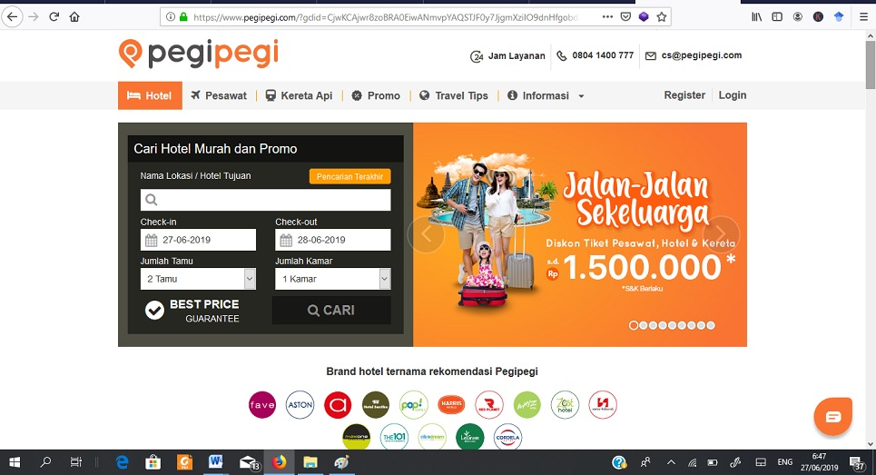 website travel pegipegi
