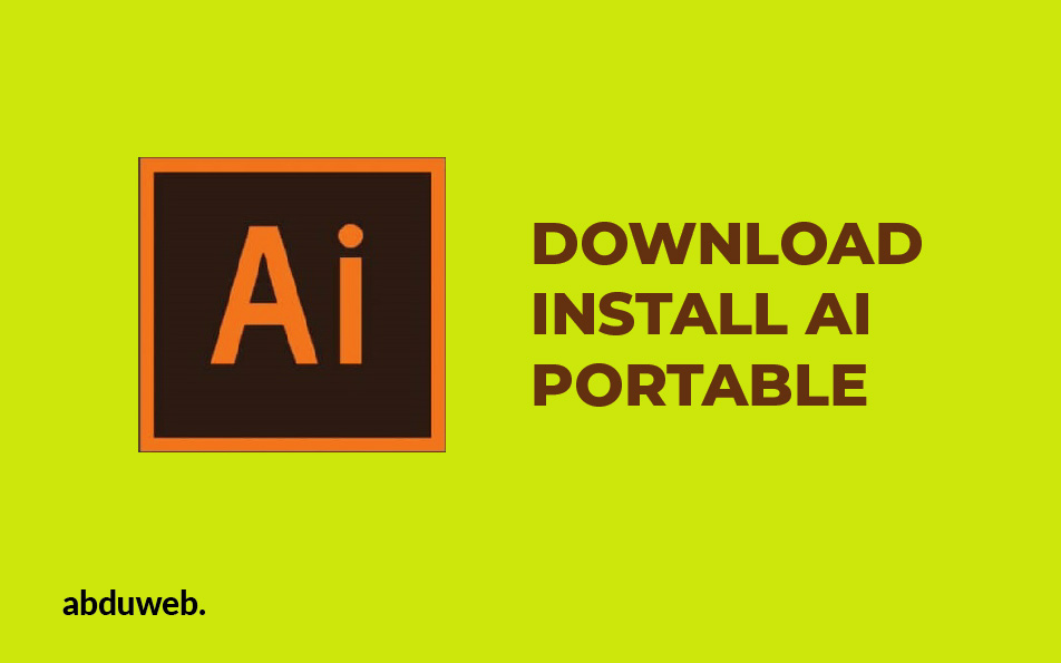 Download Adobe Ilustrator Portabel