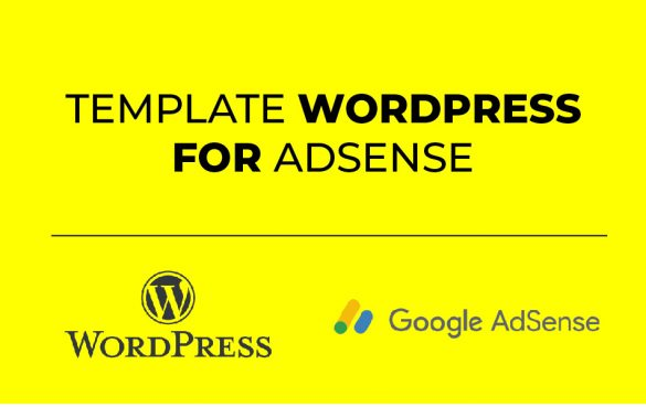 template wordpress adsense