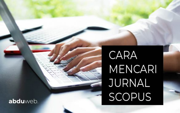cara mencari jurnal scopus