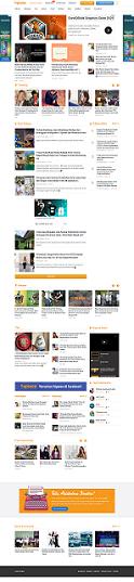 screenshot web satu halaman