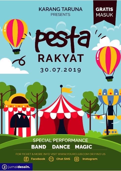 Desain Poster Karnaval