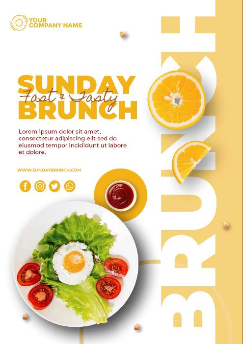 desain Poster Makanan