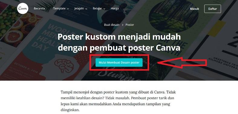 Desain Poster Online Canva