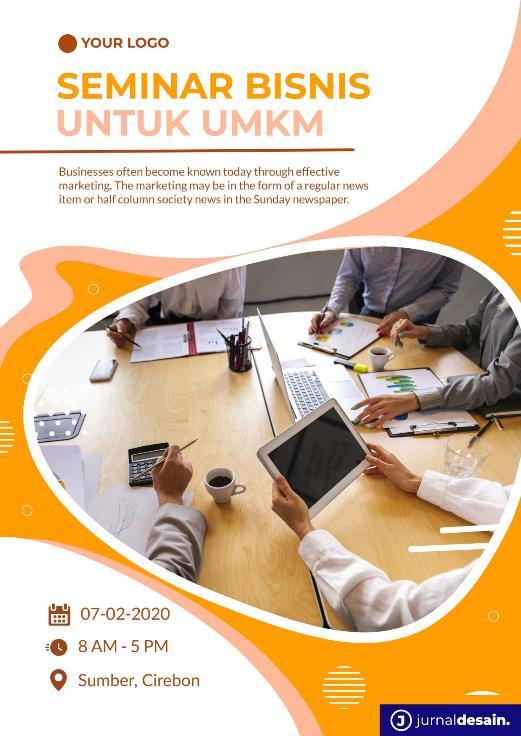 Desain Poster Seminar