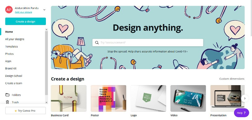 Desain Poster online
