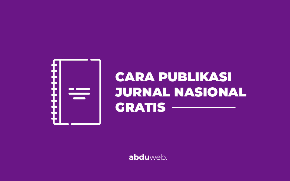 publikasi jurnal gratis