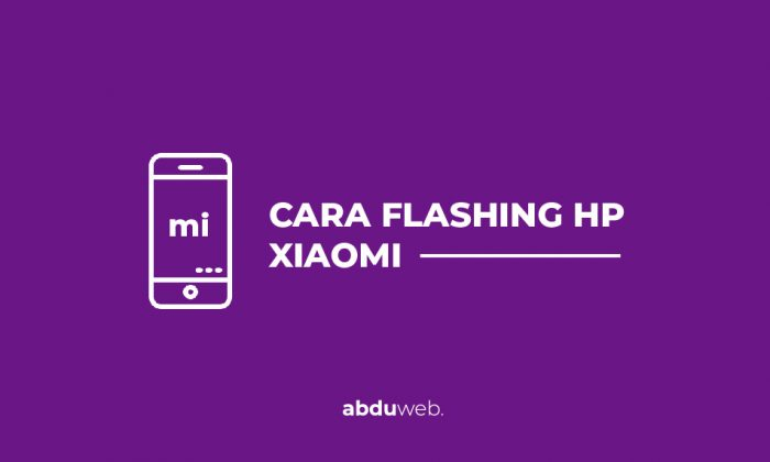 cara flashing xiaomi