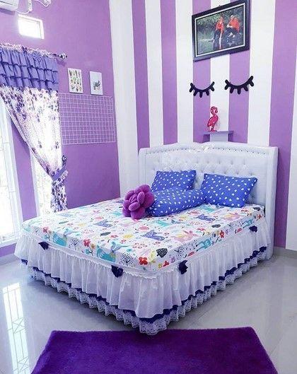 desain kamar tidur perempuan
