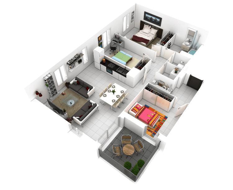 15 Desain Rumah Minimalis Untuk Lantai 1 Yang Mewah Dan Modern