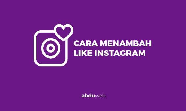 cara menambah like instagram