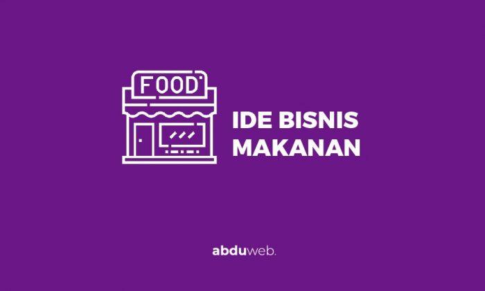 ide bisnis makanan