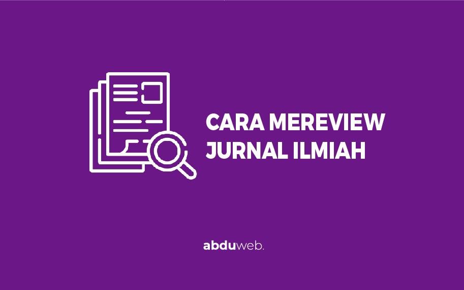 cara mereview jurnal