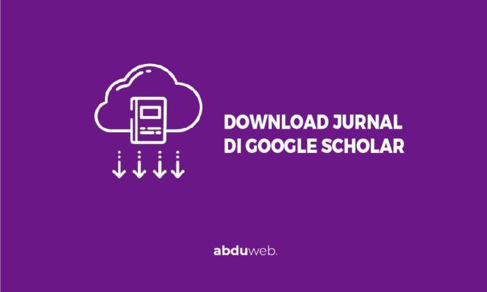 cara download jurnal di google scholar