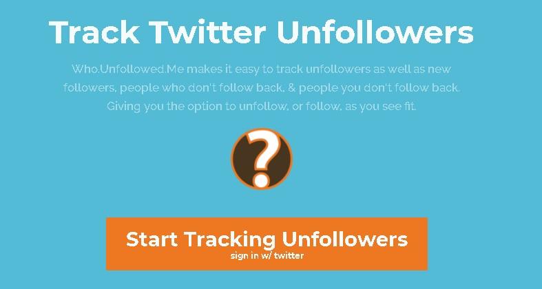 Cek Unfollow Twitter