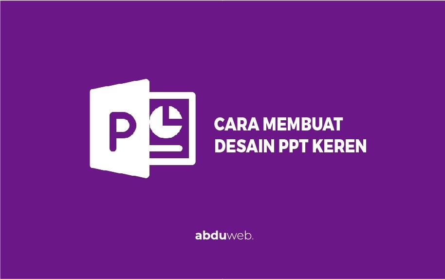 desain ppt