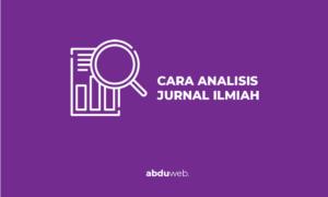 cara menganalisis jurnal