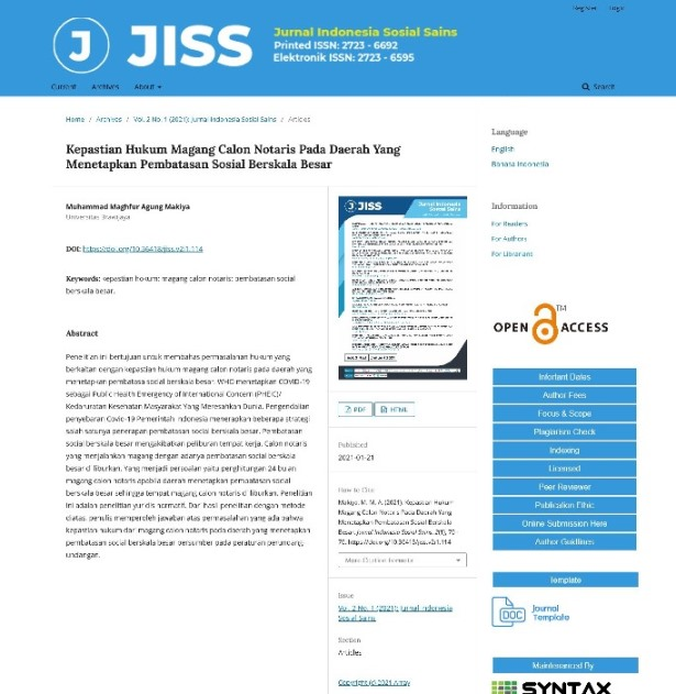 jurnal ilmiah abduweb
