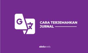 cara menerjemahkan jurnal