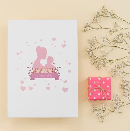 desain kartu ucapan hari ibu