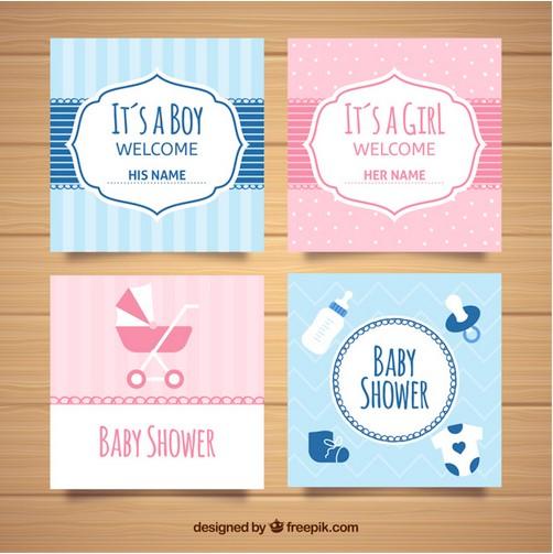 desain ucapan kartu bayi lahir