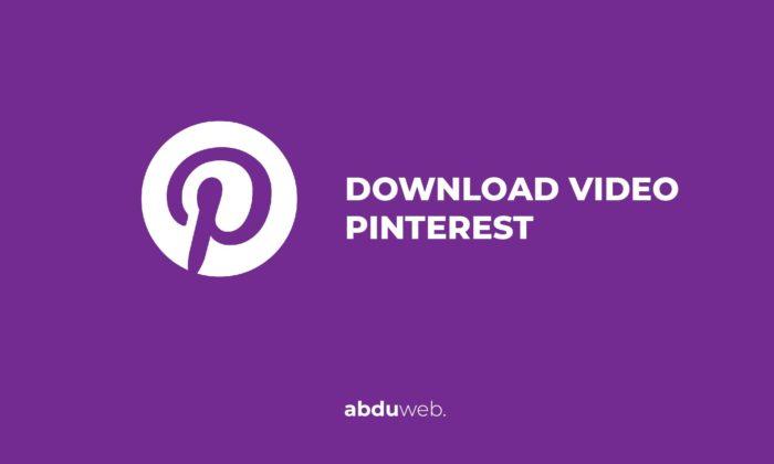 download video pinterest tanpa aplikasi