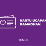 kartu ucapan ramadhan