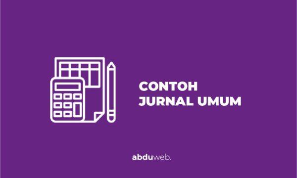 contoh jurnal umum