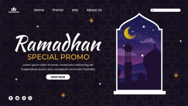 desain kartu ucapan ramadhan