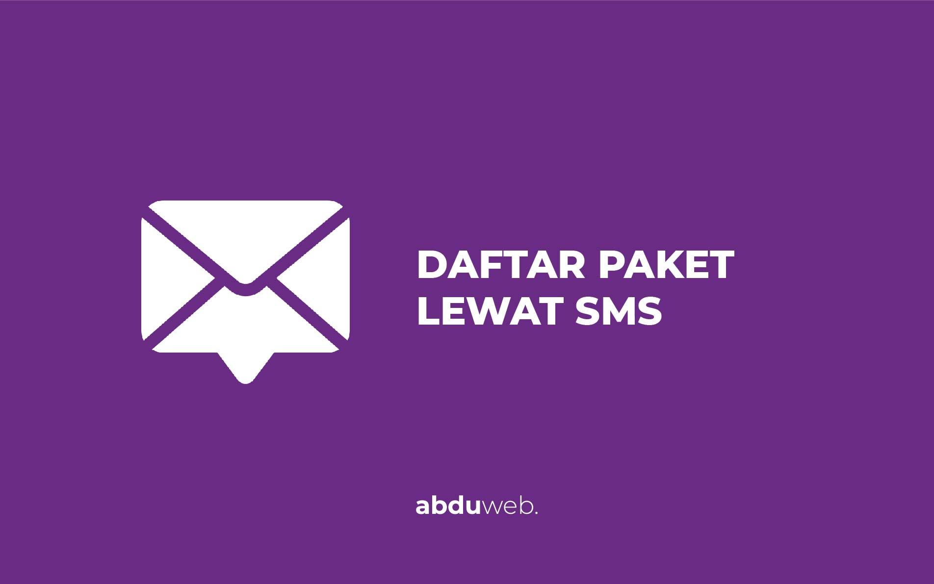cara daftar paket smartfren 4g lewat sms