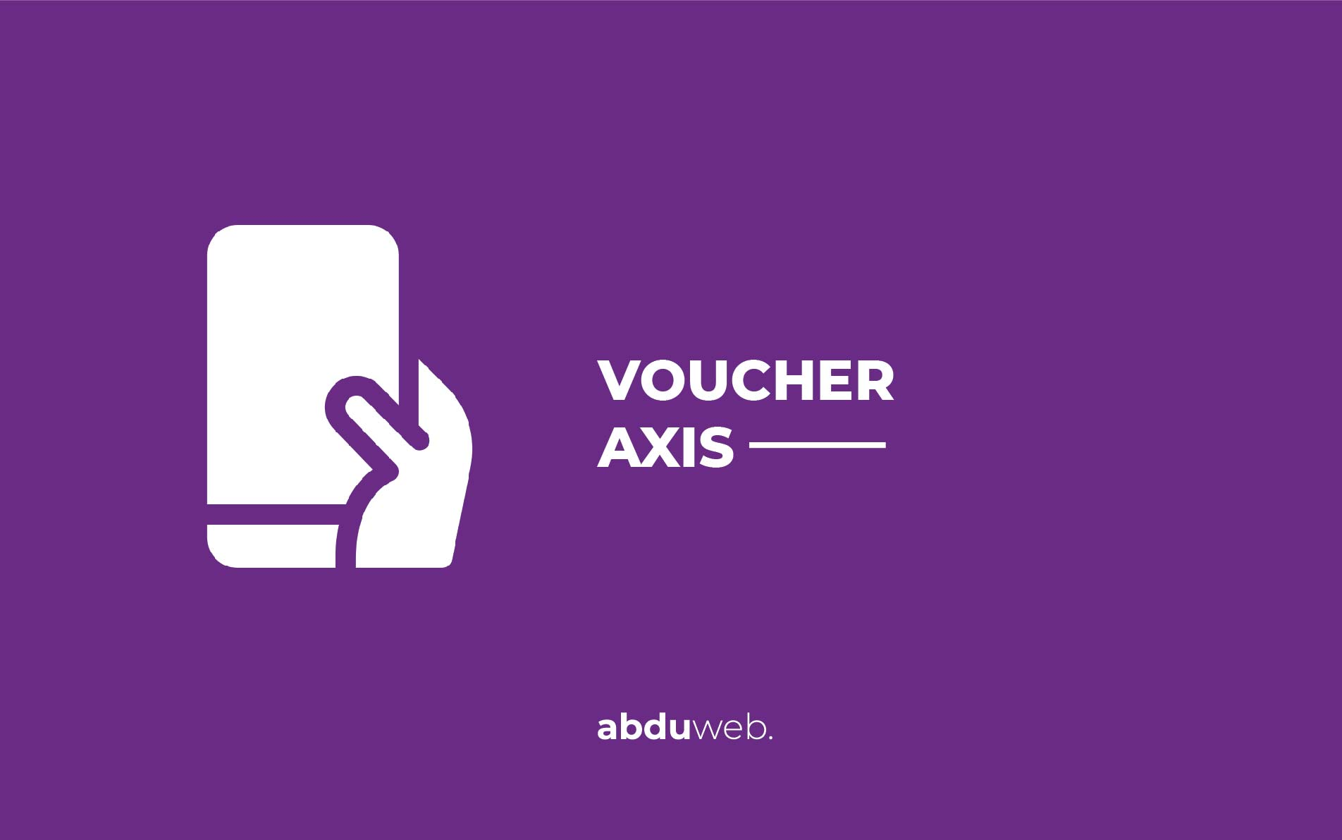 cara isi voucher axis