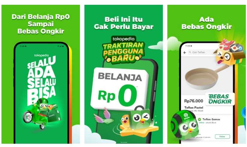 aplikasi belanja online termurah dan gratis ongkir