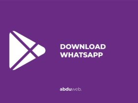 cara download whatsapp tanpa playstore